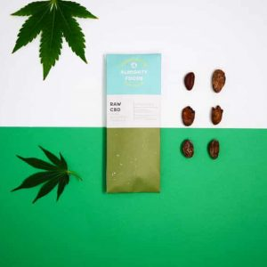 Almighty Foods Raw CBD Chocolate | CBD Edible UK
