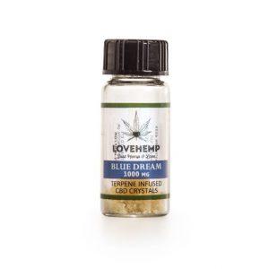 LoveHemp Terpene Infused CBD Crystal 90% CBD + 10% Terpene