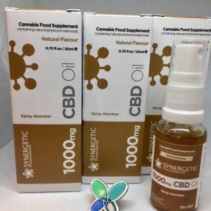 1000mg Synergetic Phytocannabinoids CBD Spray