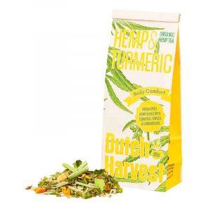 Hemp & Turmeric Tea by Dutch Harvest