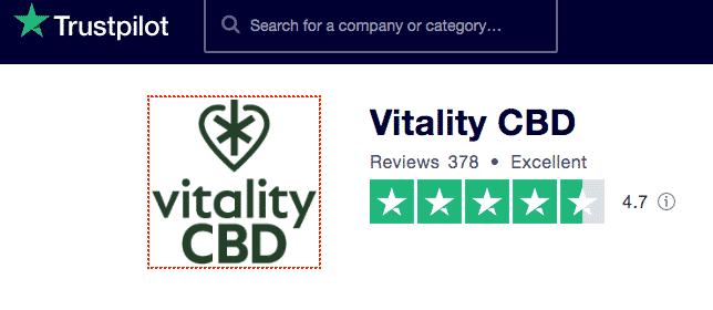 vitality cbd trustpilot