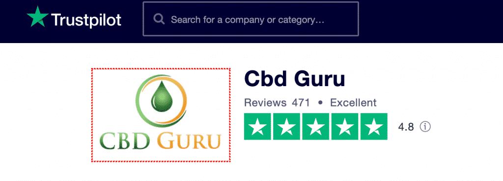 CBD Guru Trustpilot