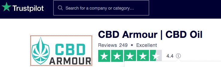 CBD Armour reviews Trustpilot