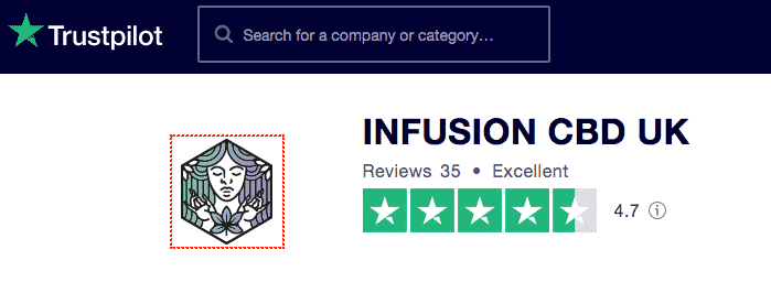 Infusion CBD Trustpilot reviews