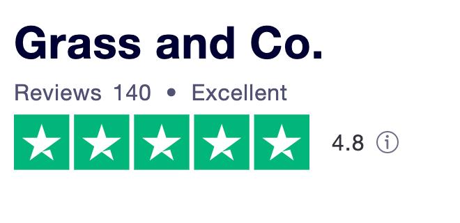 Grass and Co. Trustpilot reviews