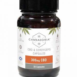 Cannadonia 300mg CBD Capsules with Cordyceps