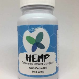 Hemp CBD Capsules (10mg)