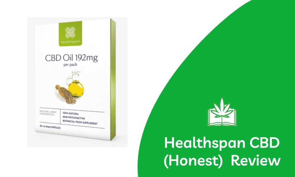 Healthspan CBD oil review