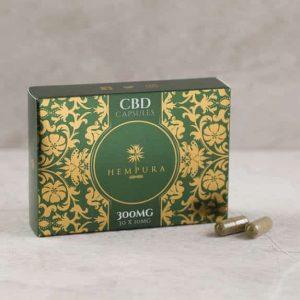 Hempura CBD capsules 300mg