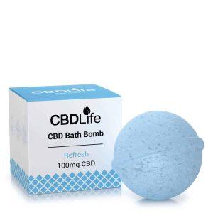 Refresh CBD Bath Bomb