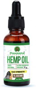 Pawsome CBD oil for pets