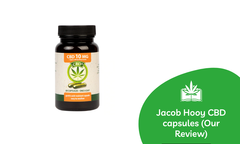 Jacob Hooy CBD capsules review