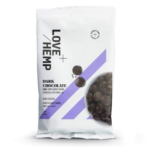 LoveHemp dark chocolate balls