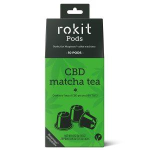 Rokit Pods CBD tea