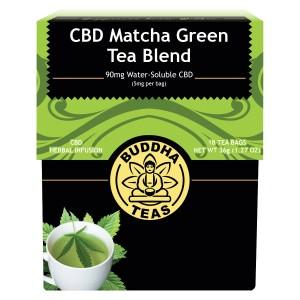 Buddha Teas CBD with Green Matcha