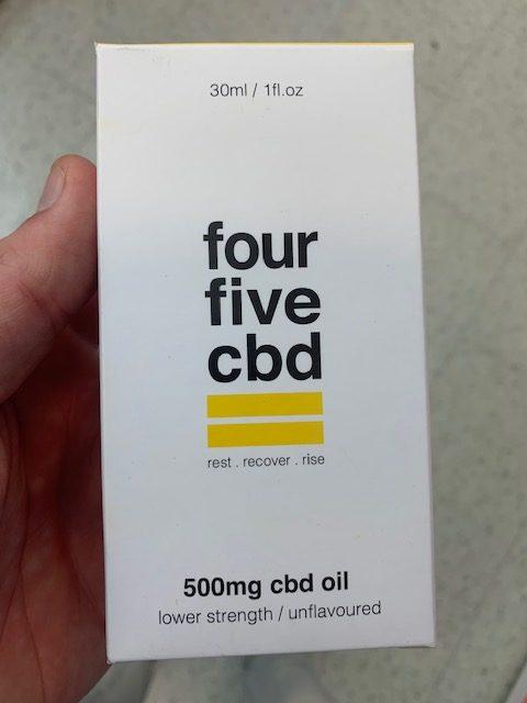 FourFive CBD 500mg oil
