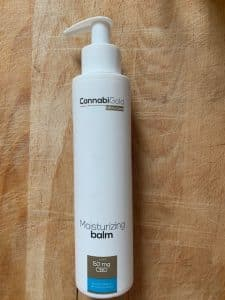 Cannabigold moisturizing CBD balm 50mg