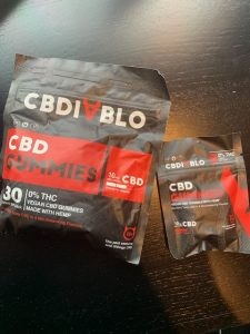 CBDiablo CBD gummies 2 sizes
