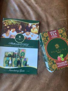 Hempura CBD tea with Vitamin B1