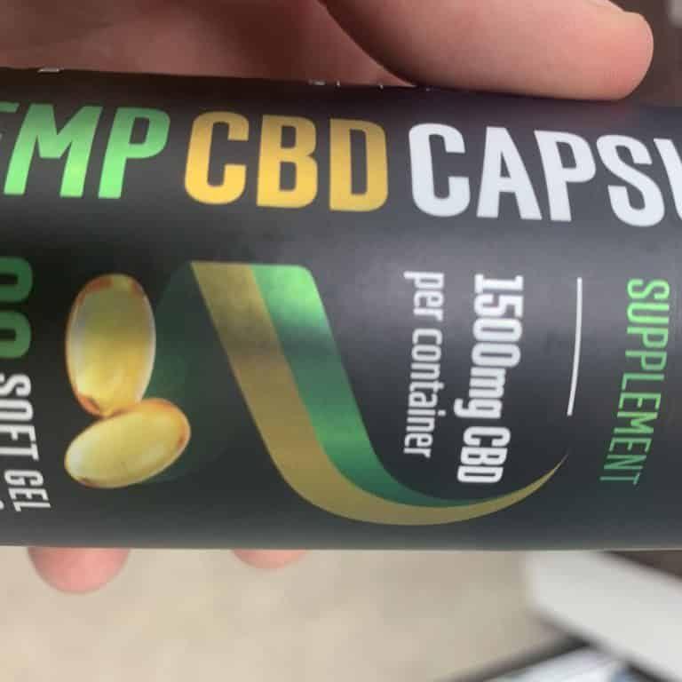 1500mg CBD capsules Reakiro